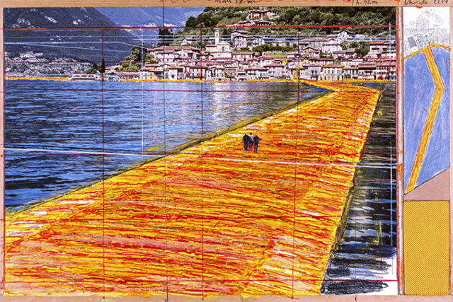Famed artist Christo to unveil new project in Italy – Floating Piers