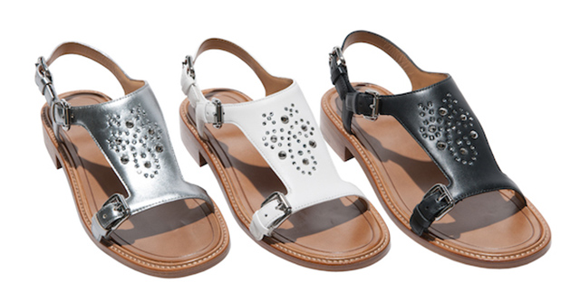 Church's designs a capsule collection of sandals for women