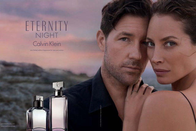 Christy Turlington Burns returns as the face of Calvin Klein fragrance