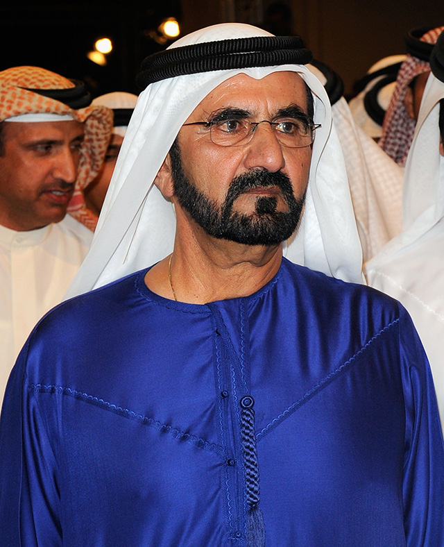 Sheikh Mohammed and Sheikh Hamdan attend UAE delivery drones announcement