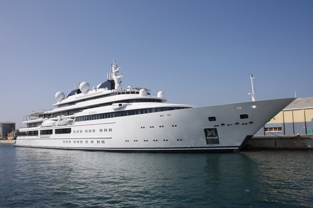 Top 10: the world's biggest superyachts