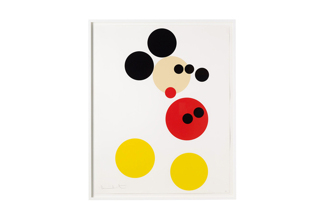 Damien Hirst celebrates first store opening with 'Mickey' prints