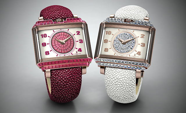 Baselworld 2016 sneak peek: de GRISOGONO New Retro Lady Baguette-Cut
