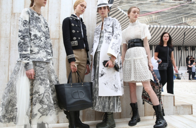 Hot stuff: Dior's Cruise Show will be in Morocco this year