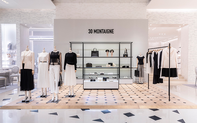 Dior is bringing not one, but two, 30 Montaigne pop-ups to Dubai