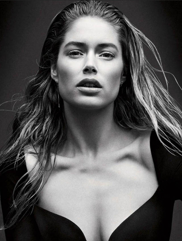 Doutzen Kroes is announced as Calvin Klein's new fragrance face