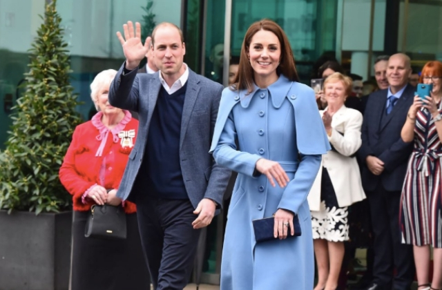 The Duchess of Cambridge wore a caped coat and now, naturally, we need to own it