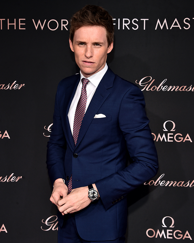 Eddie Redmayne is the latest OMEGA brand ambassador