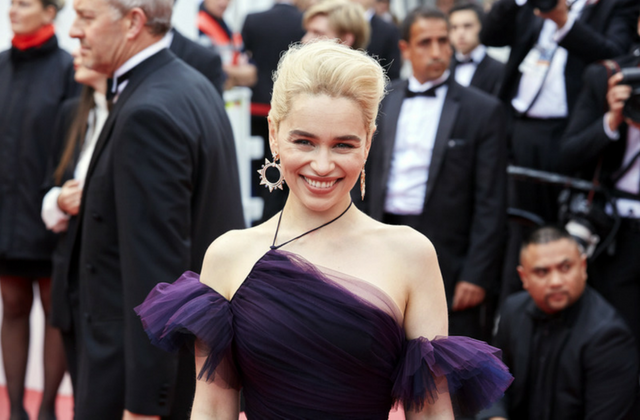 "Emilia Clarke wants everyone to stop saying ""strong female leads"""