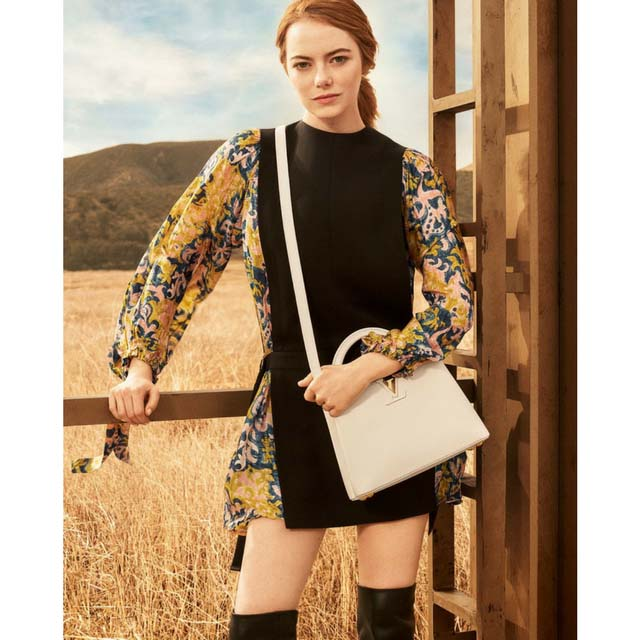 Buro buys: Louis Vuitton's Capucine bag, as worn by Emma Stone