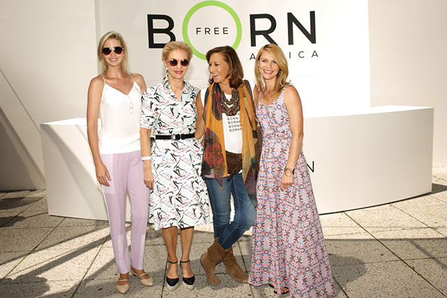 Fashion's elite unite to host Born Free Africa carnival in New York