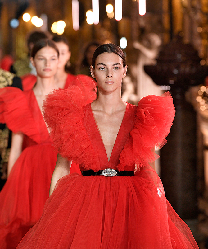 Missed it? Relive the Giambattista Valli x H&M in Rome here