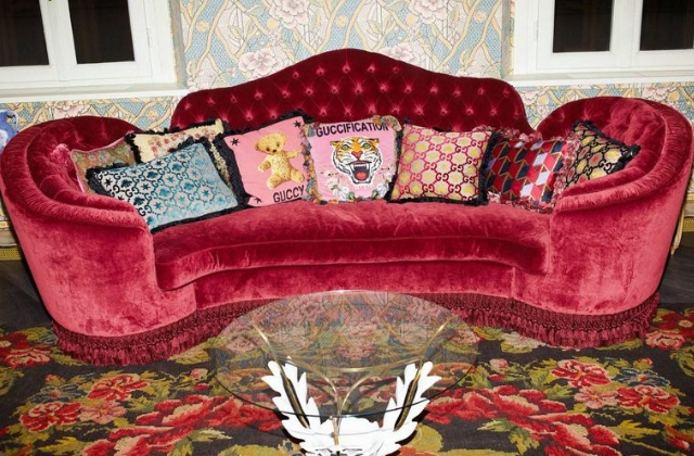 Gucci's new temporary décor store will definitely inspire your next home revamp