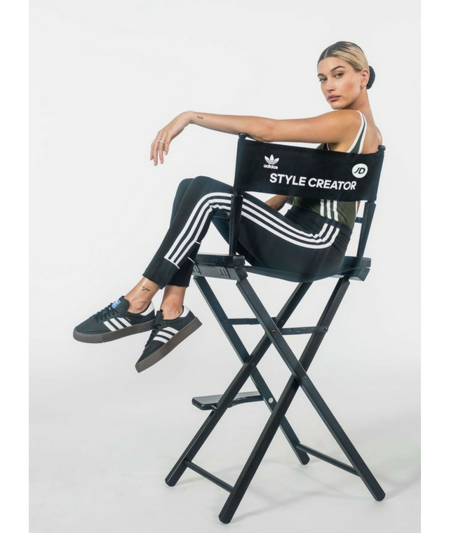Hailey Baldwin has landed herself a cool new role with Adidas