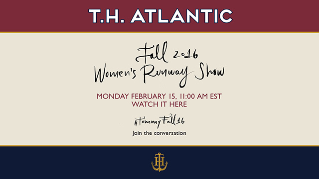 Live streaming: Tommy Hilfiger Fall/Winter '16 New York Fashion Week show