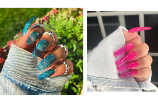 Jelly nails are officially the summer's must-try nail trend