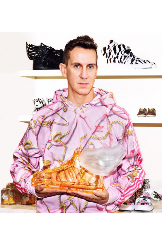 Jeremy Scott debuts first fragrance for Adidas