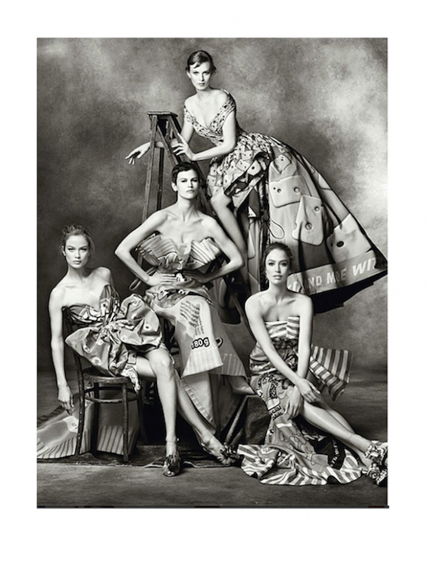 Moschino reveals details on its Autumn/Winter 14 campaign