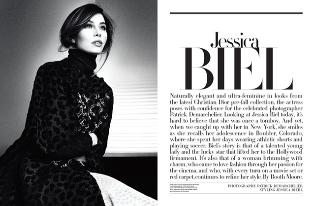 Jessica Biel for Dior Magazine Issue 6