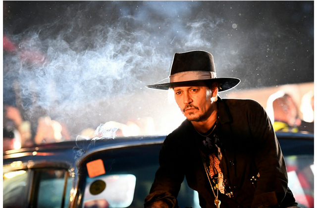 Johnny Depp's upcoming film on Notorious B I G  and Tupac