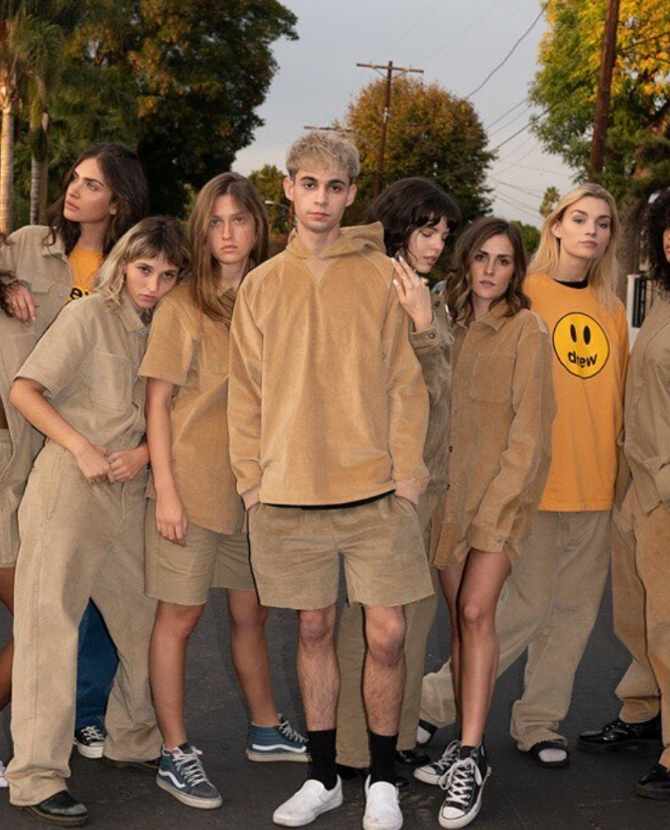 Well this is cool: Justin Bieber debuts new fashion line called Drew House