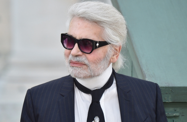 Breaking news: Karl Lagerfeld just passed away at the age of 85