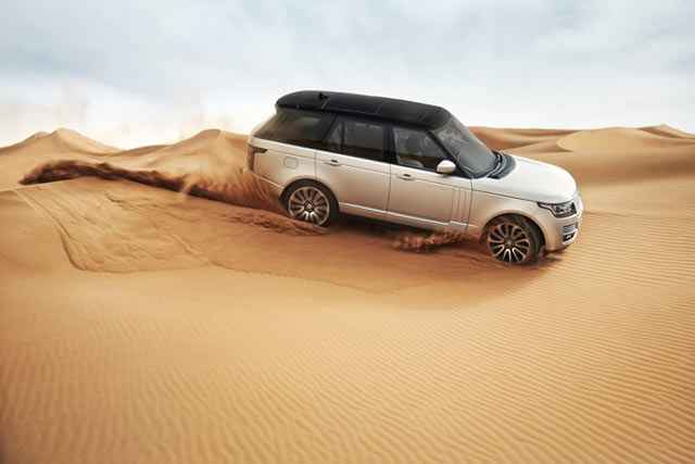 The new Land Rover Range Rover debuts in Dubai