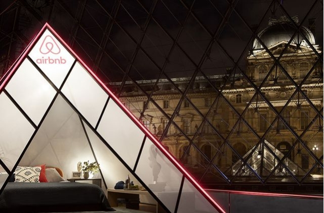 Thanks to Airbnb, you can spend a night in the Louvre Paris