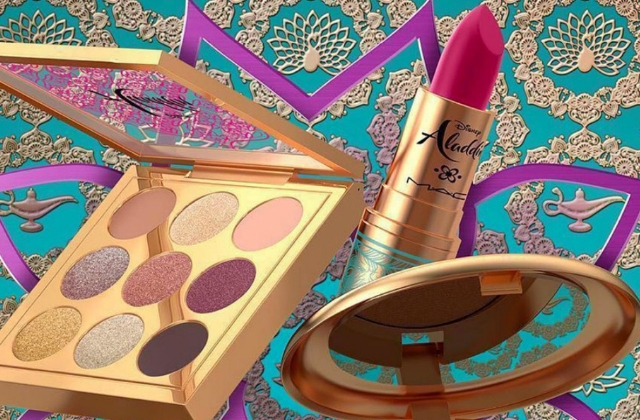 MAC is launching an Aladdin collection and it's pretty magical