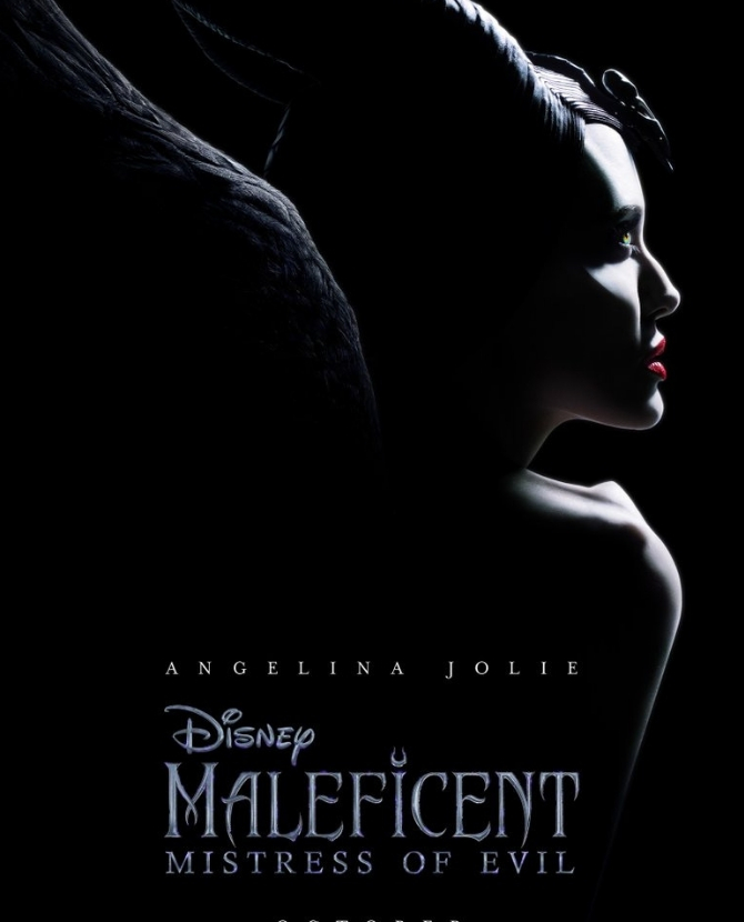 Angelina Jolie looks so fierce in the Maleficent sequel poster