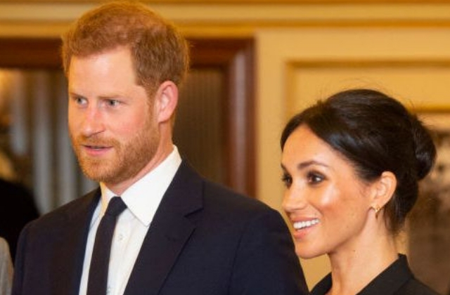 Too cute: Meghan Markle and Prince Harry had a date night at the theatre