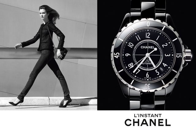 Chanel reveals a new watch campaign by Patrick Demarchelier