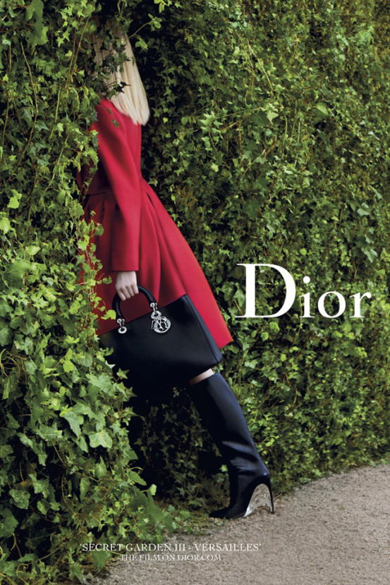 Dior to release new Versailles-based 'Secret Garden' film on Friday