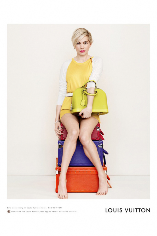 First look: Michelle Williams is back for Louis Vuitton