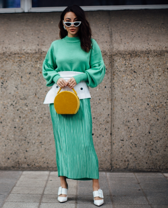 Mint Green is in. So, here are 10 pieces to wear right now