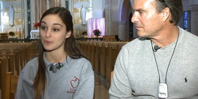 Video of the week: Deaf father hears his daughter sing for the first time