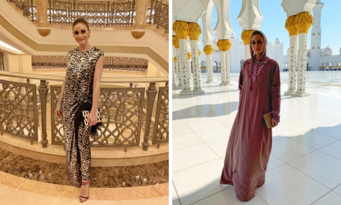 Olivia Palermo reveals her favourite things about Abu Dhabi