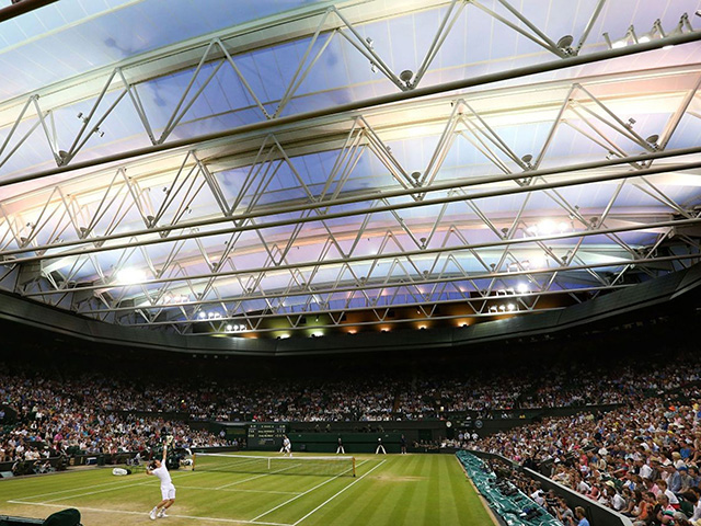 Wimbledon 2014 sees its busiest first day in history