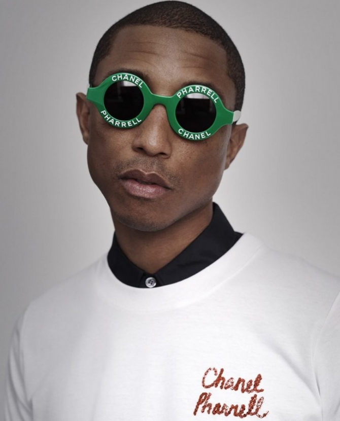 5978cc0117553 It looks like Pharrell Williams is launching a new collection with Chanel