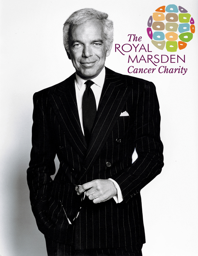 Ralph Lauren partners up with The Royal Marsden Cancer Charity