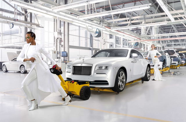 Exclusive: Rolls-Royce Wraith – Inspired by Fashion