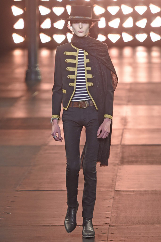 Paris Men's Fashion Week: Saint Laurent Spring/Summer 15