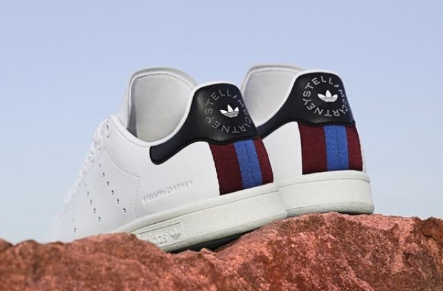 Stella McCartney designs the first ever vegetarian Stan Smiths for Adidas