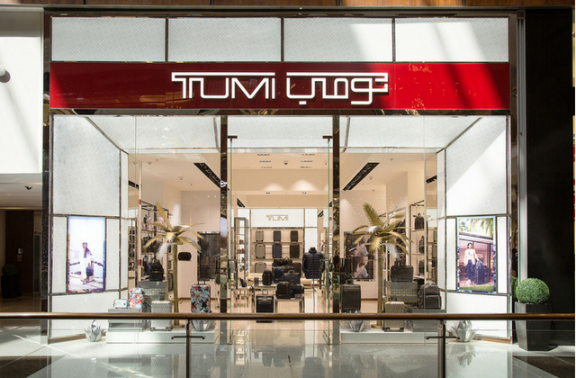 Tumi opens its largest store in the region in The Dubai Mall