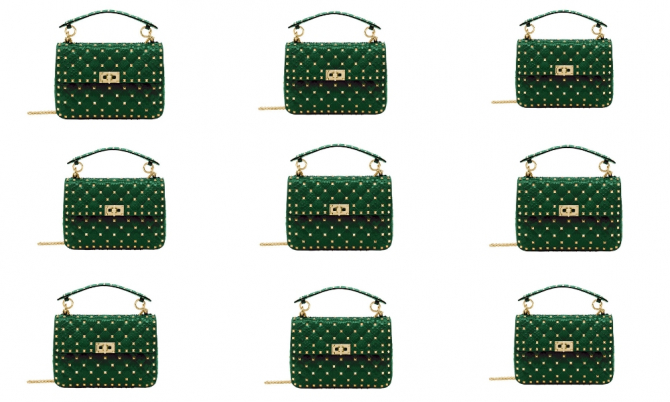 Valentino is launching an exclusive handbag to celebrate The Dubai Mall's 10th anniversary