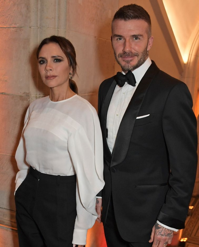 Victoria and David Beckham defined couple goals at the National Portrait Gallery Gala last night