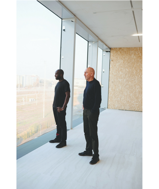 """No one owns anything anymore\"" - Virgil Abloh and architect Rem Koolhaas on the future of living, working and selling"