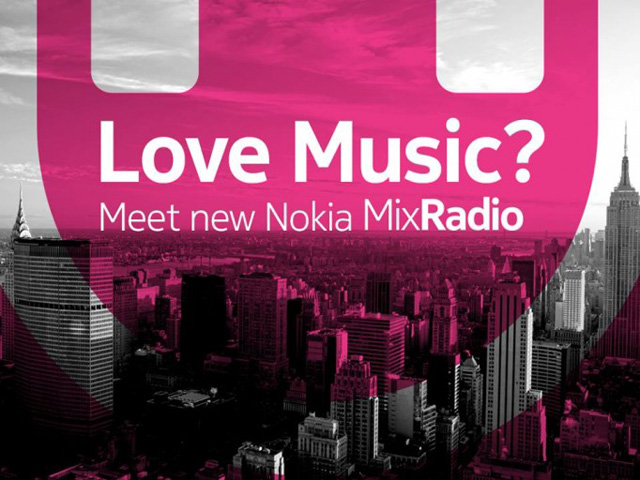 Nokia launches MixRadio music streaming service