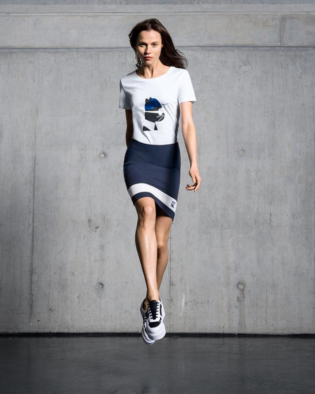Karl Lagerfeld teams up with Zalando for a sportswear collection ... 2ec716426af