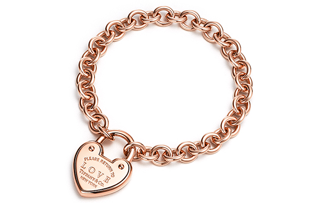 Return To Tiffany Love bracelet in rose gold